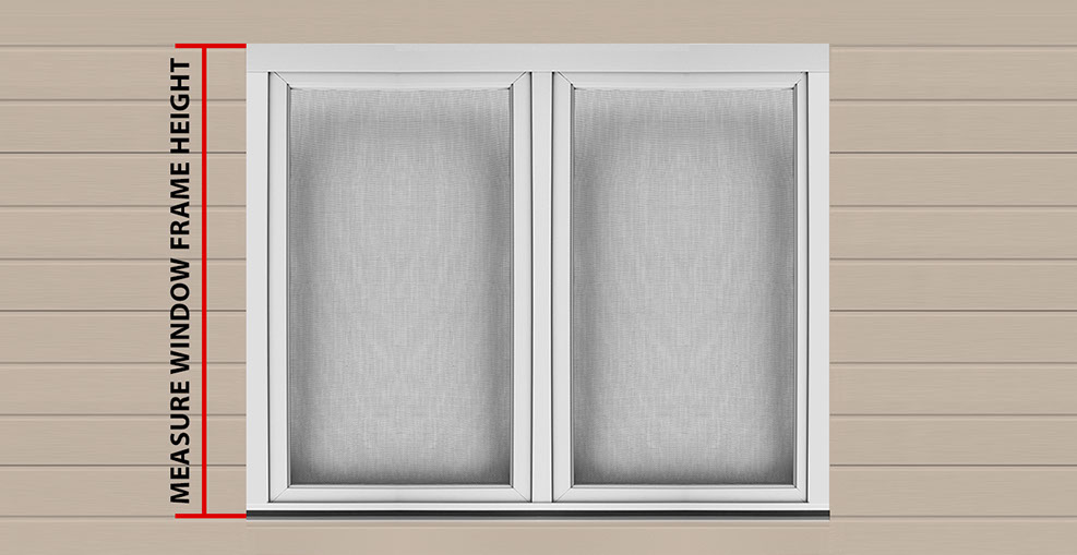 Window weatherguard for Most common window size